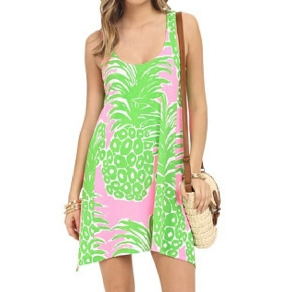 Lilly pulitzer pineapple dress
